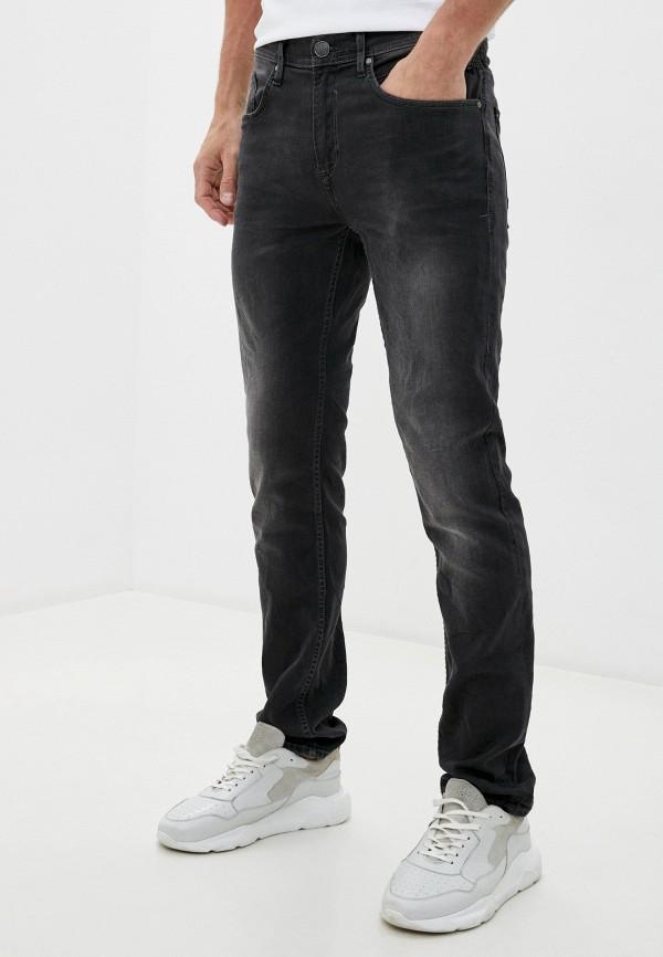 мужские зауженные джинсы blend, серые