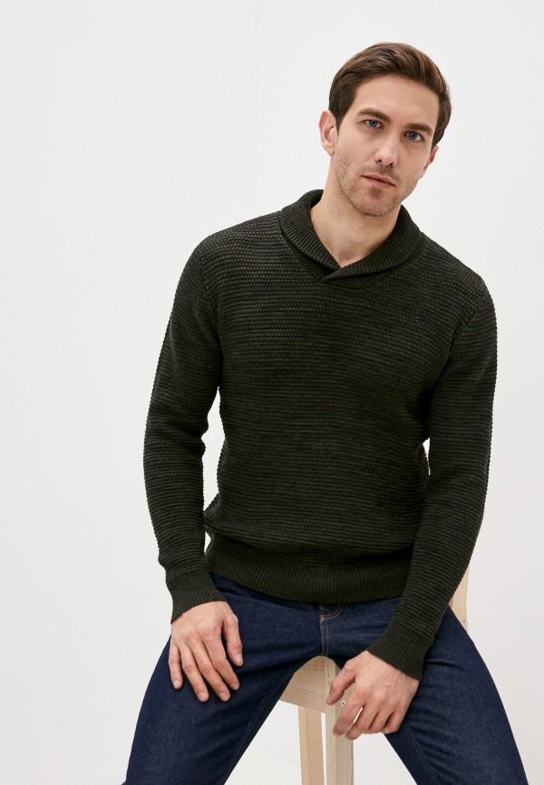 мужской пуловер blend, зеленый