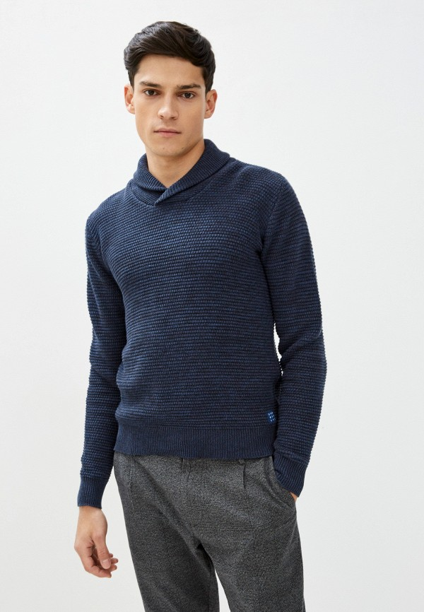 мужской пуловер blend, синий