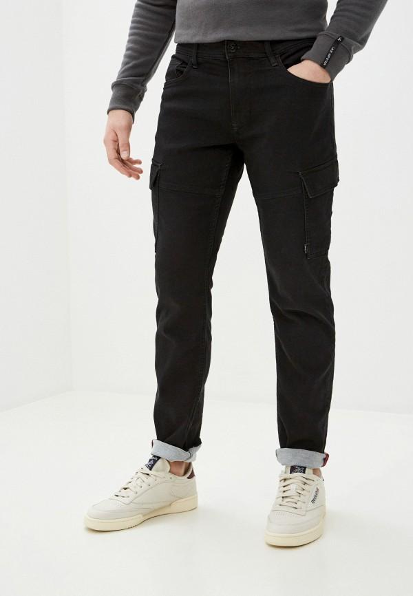 мужские прямые брюки blend, черные