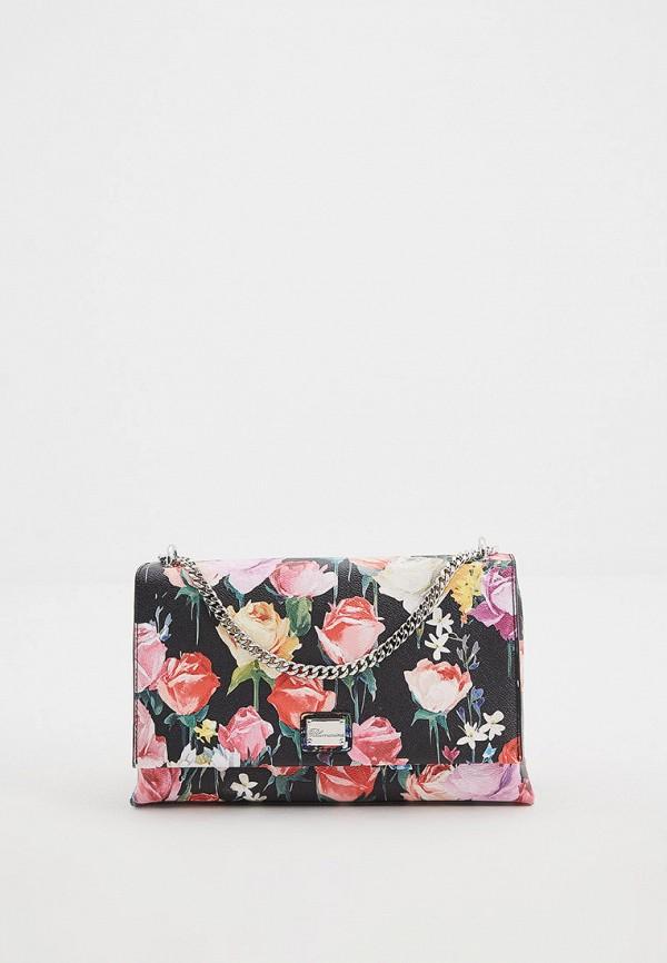 женская сумка blumarine, разноцветная