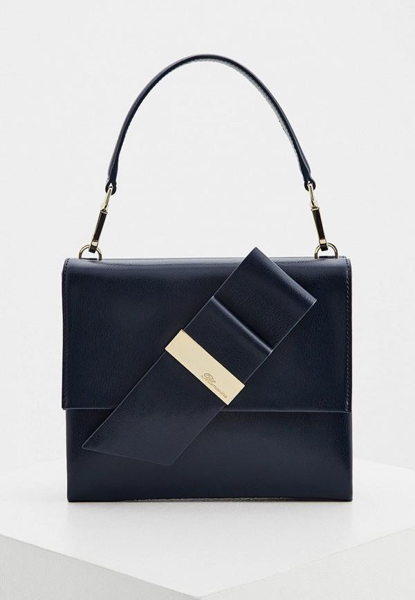 женская сумка blumarine, синяя