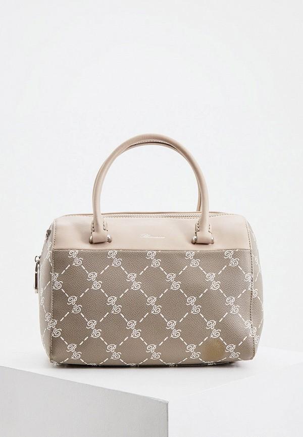 женская сумка blumarine, серая
