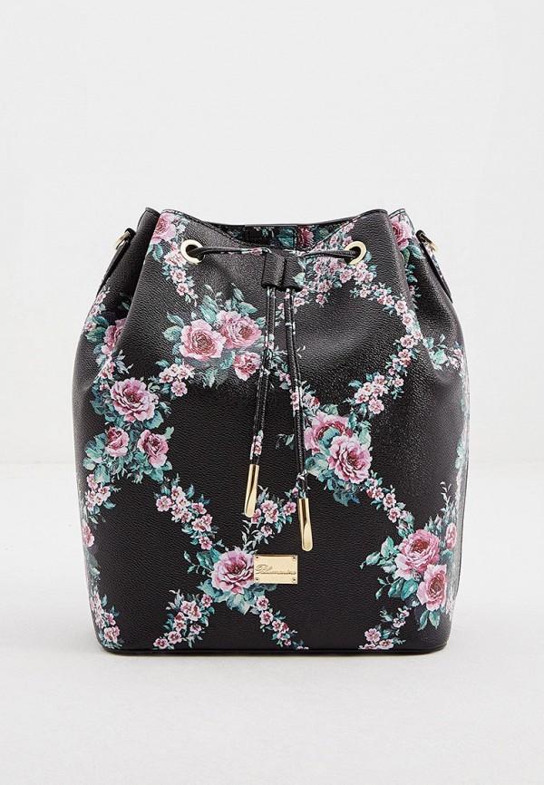 женский рюкзак blumarine, черный