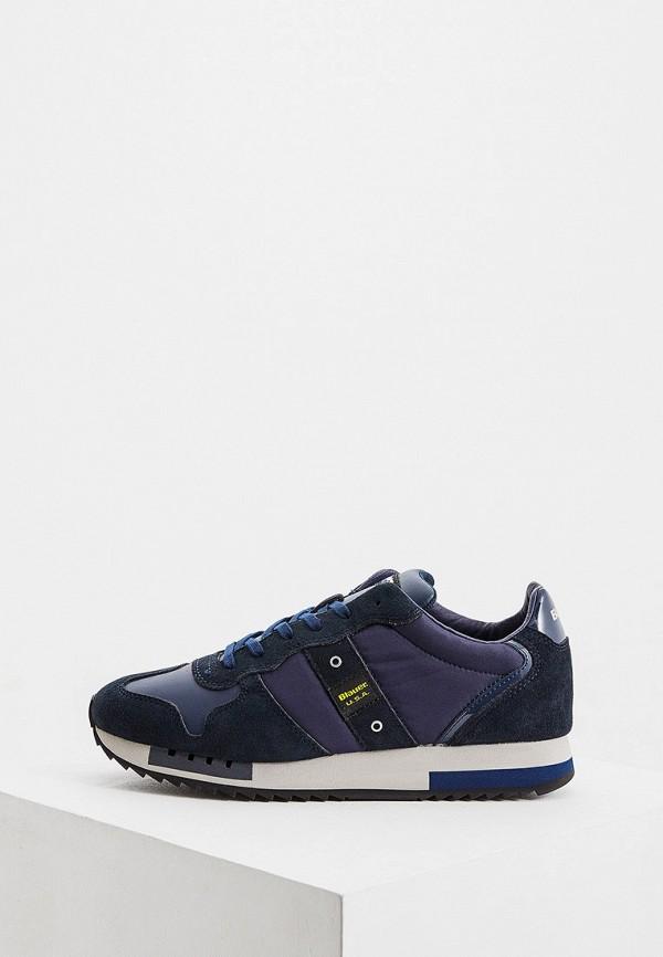 мужские кроссовки blauer, синие