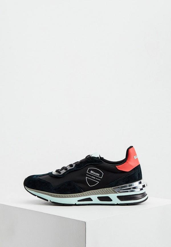 мужские кроссовки blauer, черные