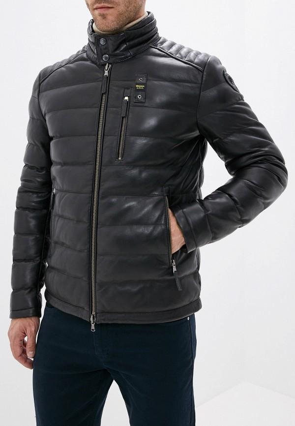 Куртка кожаная Blauer Blauer BL654EMFPJH2 blauer куртка