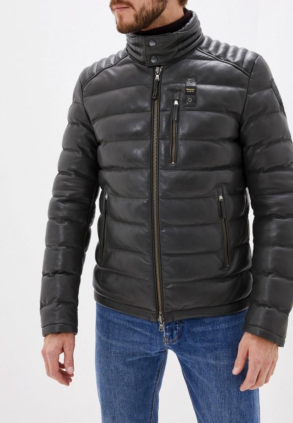 Куртка кожаная Blauer Blauer BL654EMFPJH3 blauer куртка
