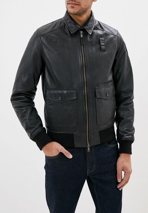 цена Куртка кожаная Blauer Blauer BL654EMFPJH5