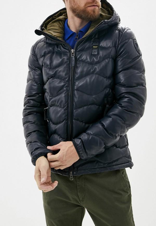Куртка кожаная Blauer Blauer BL654EMFPJL8 blauer куртка