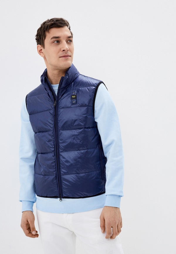 мужской жилет blauer usa, синий