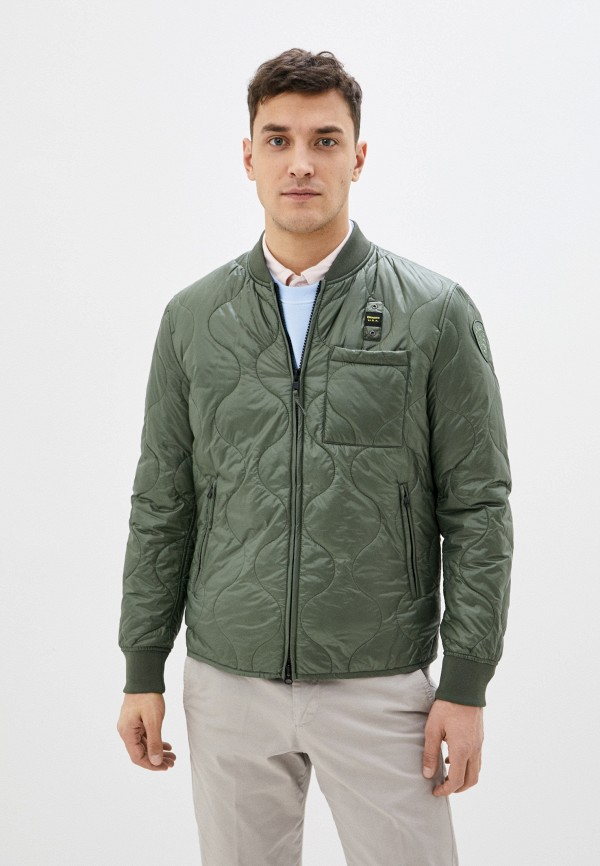 мужская куртка blauer usa, хаки