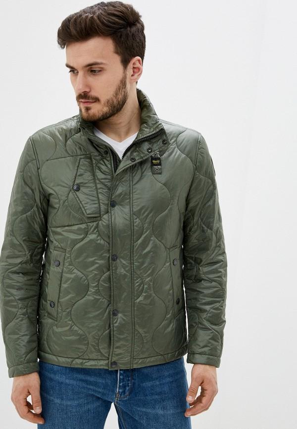 мужская куртка blauer usa, зеленая