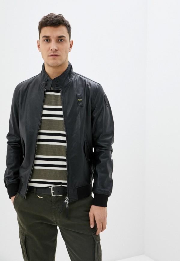 мужская куртка blauer usa, черная