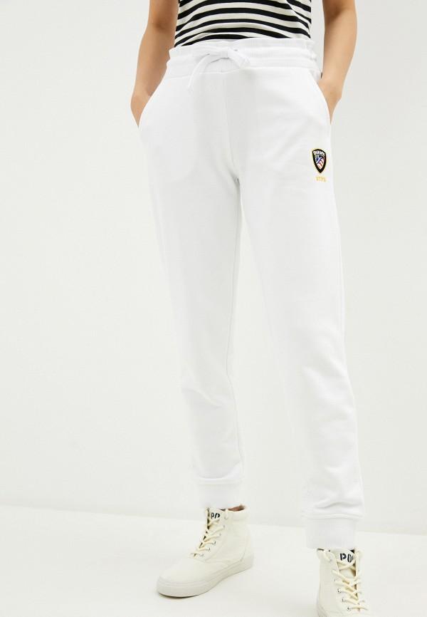 женские спортивные брюки blauer usa, белые