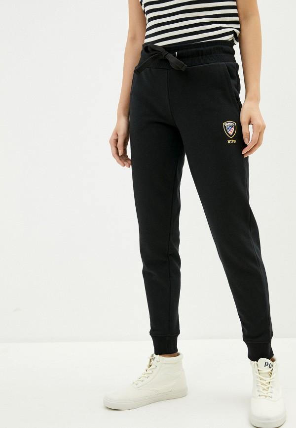 женские спортивные брюки blauer usa, черные