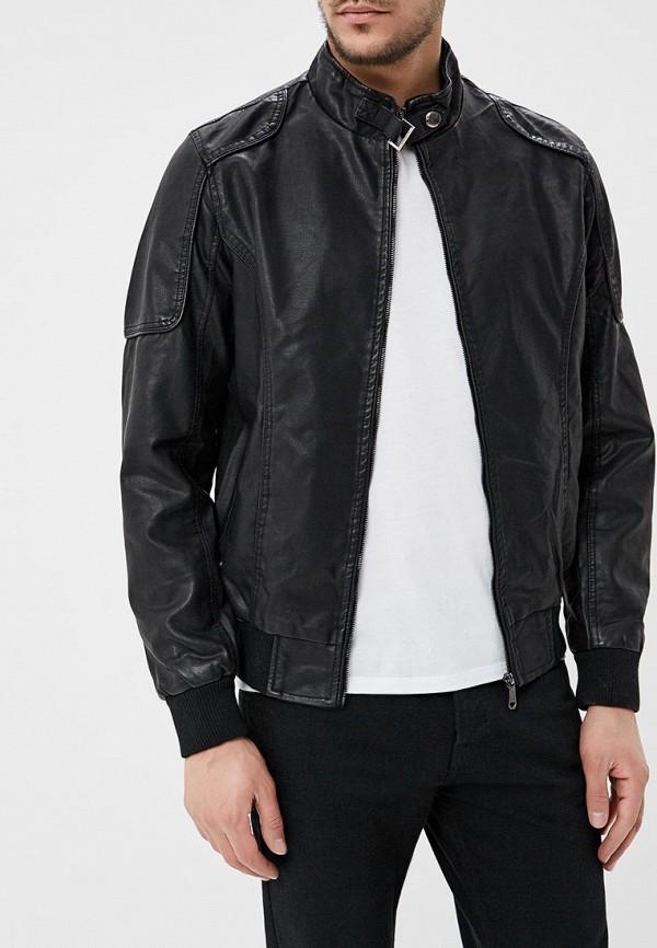 Купить Куртка кожаная B.Men, bm001emaqbf5, черный, Весна-лето 2018