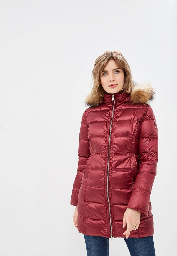 Купить Пуховик Bomboogie, BO003EWCUID4, бордовый, Осень-зима 2018/2019