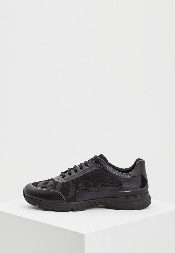 мужские кроссовки hugo boss, черные