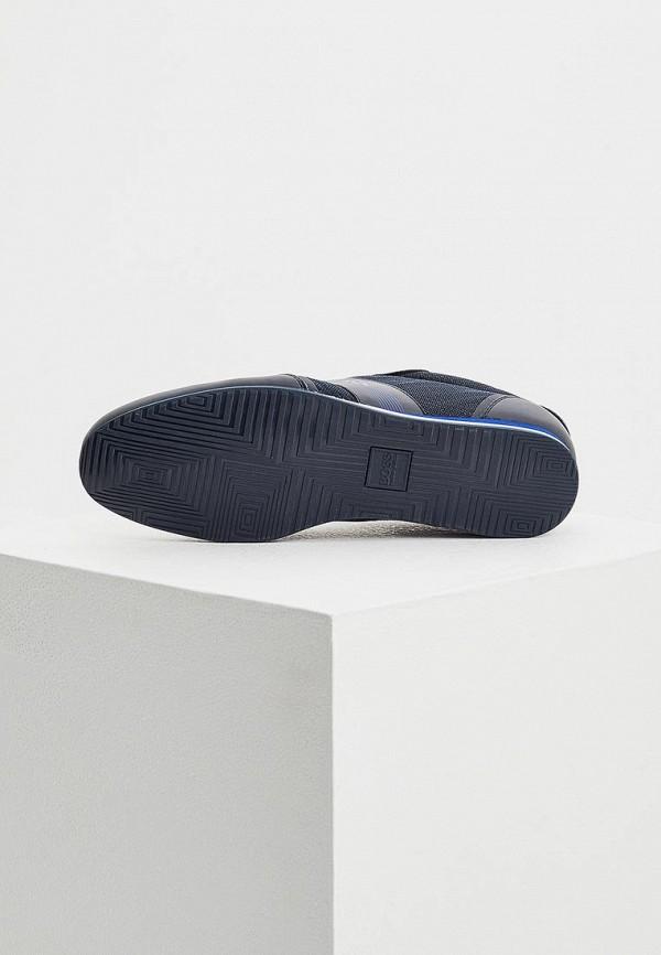 Фото 3 - мужские кроссовки Boss синего цвета