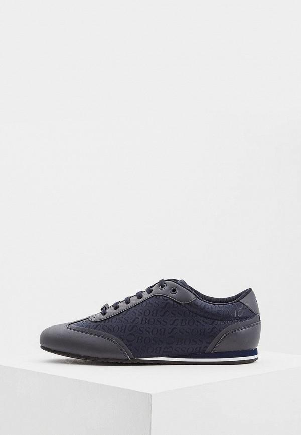 мужские кроссовки hugo boss, синие