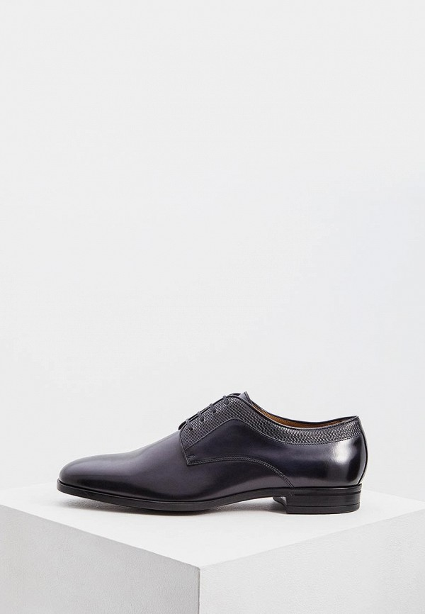мужские туфли hugo boss, синие