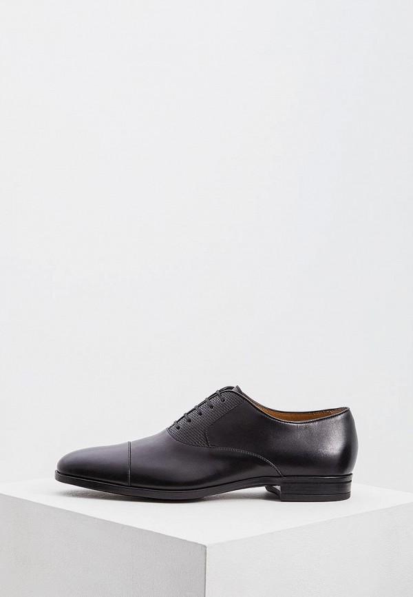 мужские туфли hugo boss, черные
