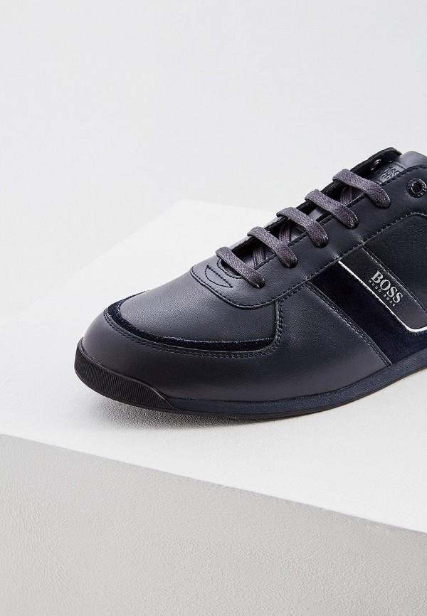 Фото 4 - мужские кроссовки Boss Hugo Boss синего цвета