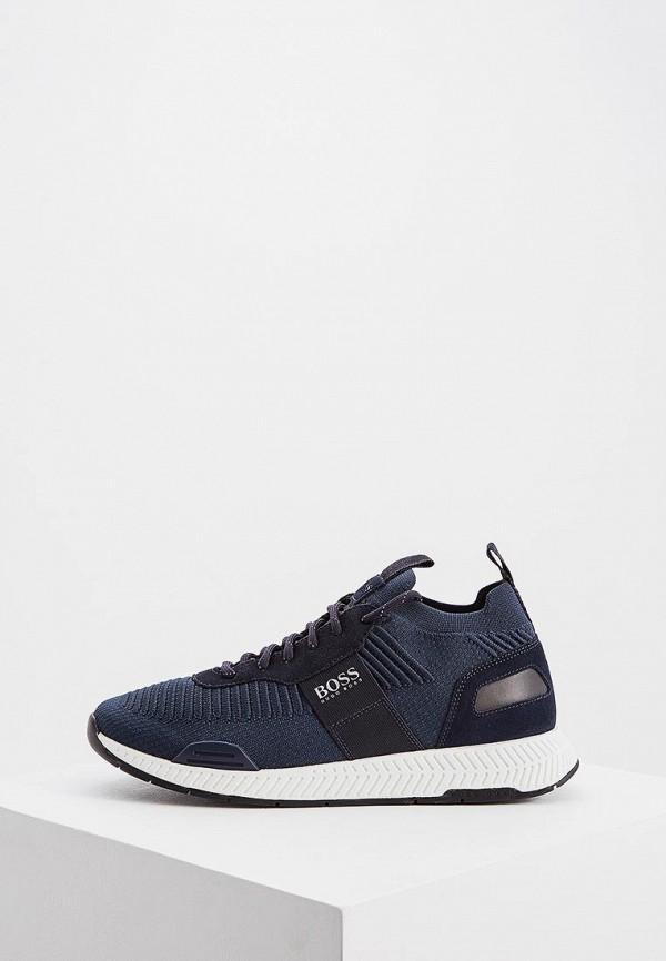 мужские кроссовки boss, синие