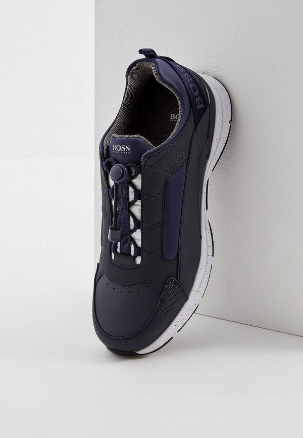 Фото 2 - мужские кроссовки Boss Hugo Boss синего цвета