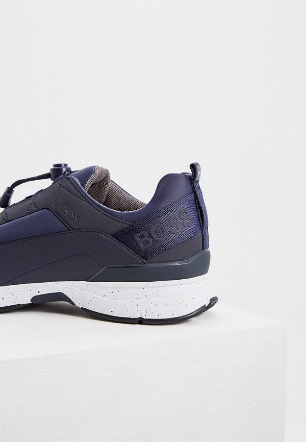 Фото 5 - мужские кроссовки Boss Hugo Boss синего цвета