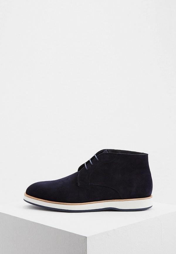 Фото - Ботинки Boss синего цвета