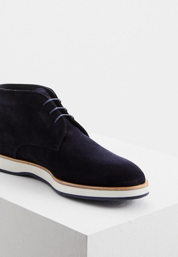 Фото 2 - Ботинки Boss синего цвета