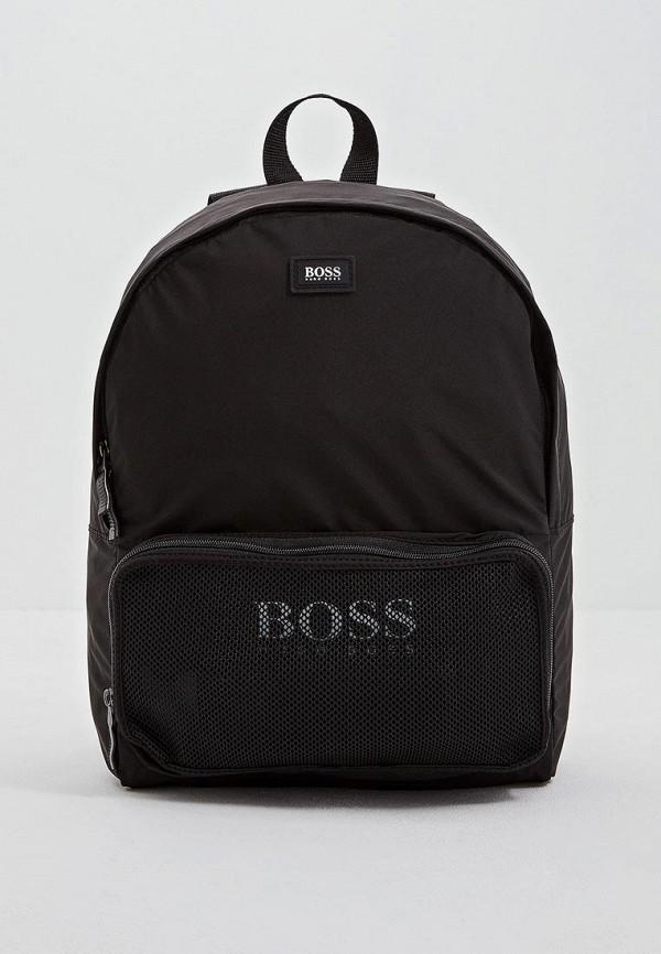мужской рюкзак hugo boss, черный