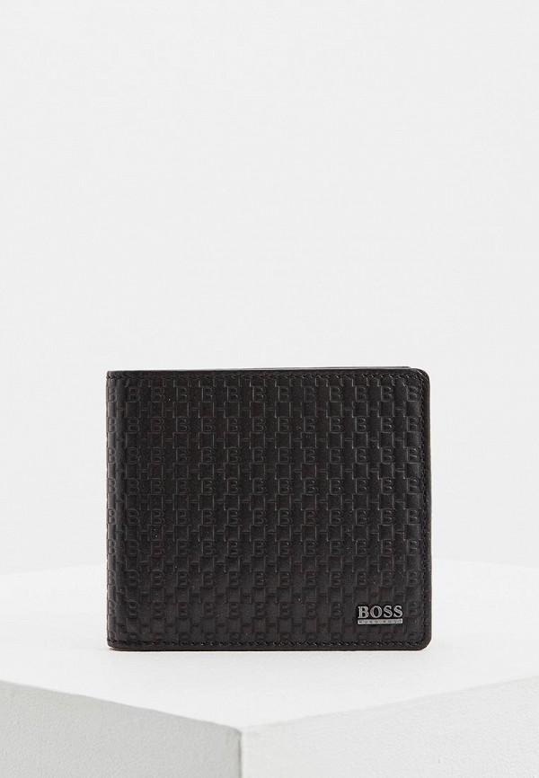 Фото - мужской кошелек или портмоне Boss черного цвета