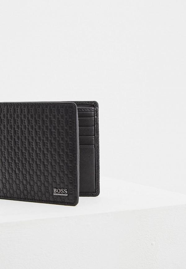 Фото 3 - мужской кошелек или портмоне Boss черного цвета