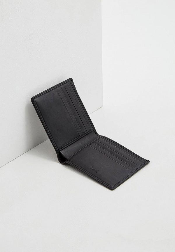 Фото 4 - мужской кошелек или портмоне Boss черного цвета