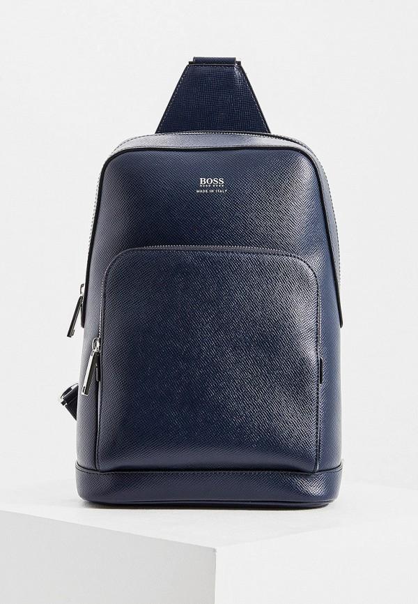 мужской рюкзак boss, синий