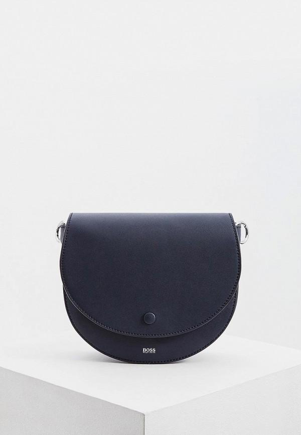 женская сумка hugo boss, синяя