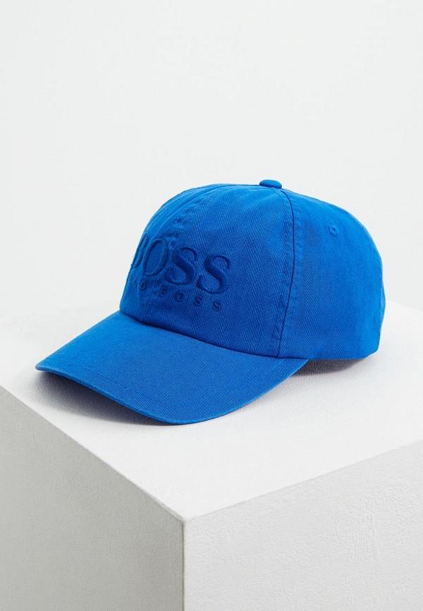 мужская бейсболка hugo boss, синяя