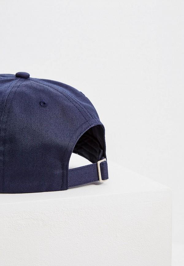 Фото 2 - мужскую бейсболку Boss Hugo Boss синего цвета