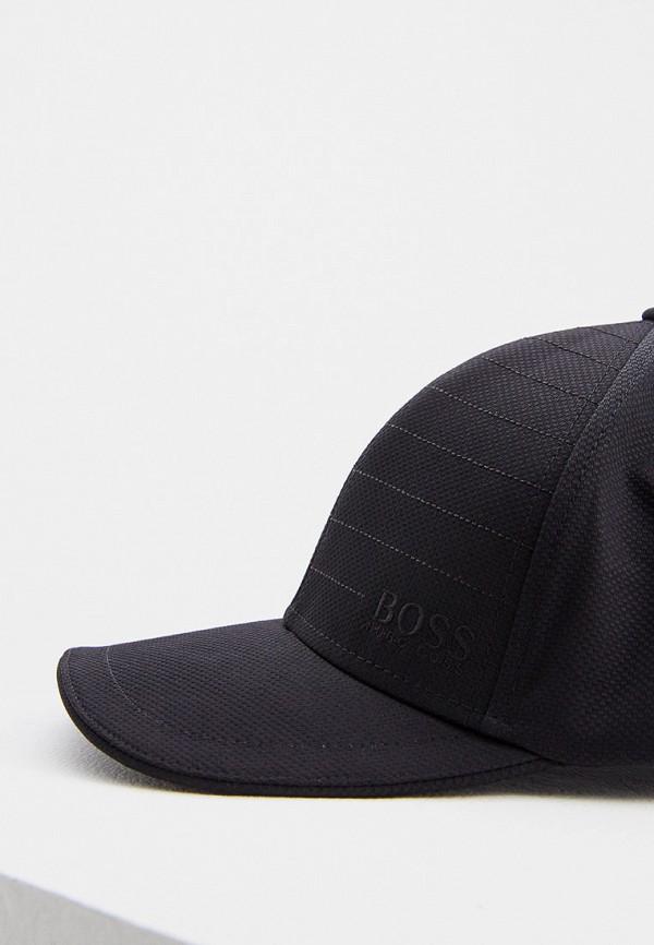 Фото 3 - мужскую бейсболку Boss Hugo Boss черного цвета