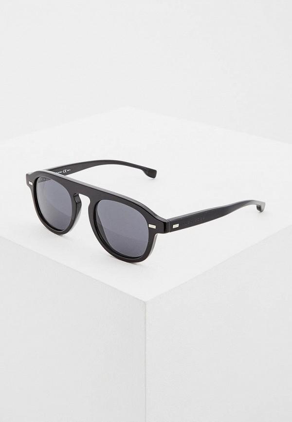 мужские солнцезащитные очки hugo boss, черные