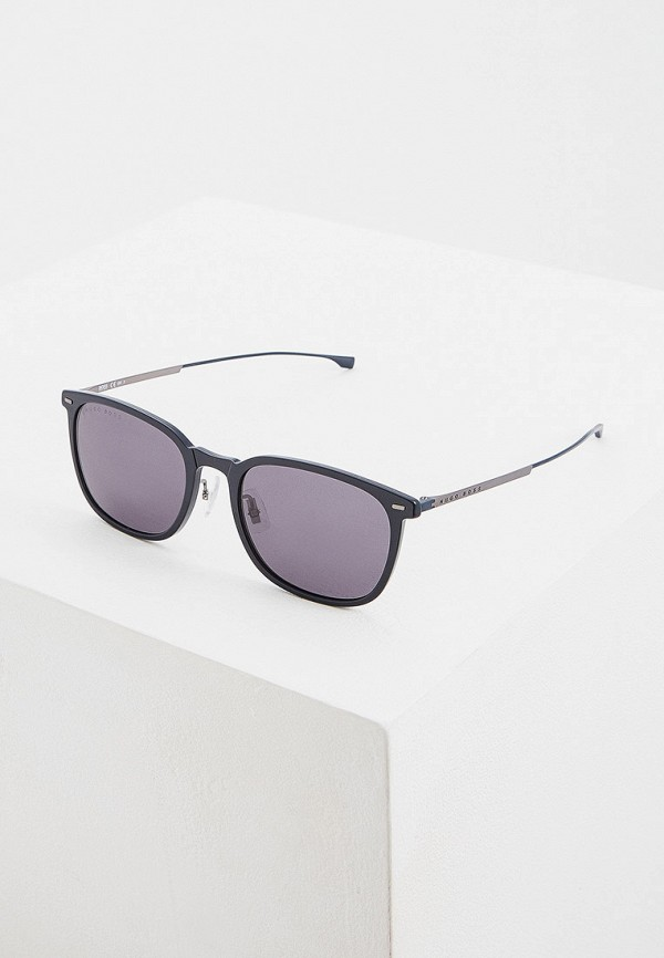 женские солнцезащитные очки hugo boss, синие