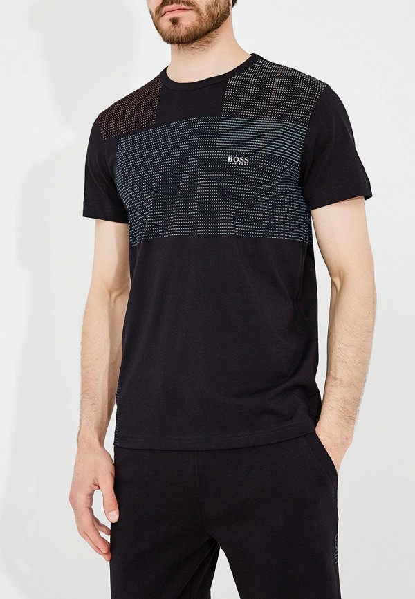 Фото - мужскую футболку Boss Hugo Boss черного цвета