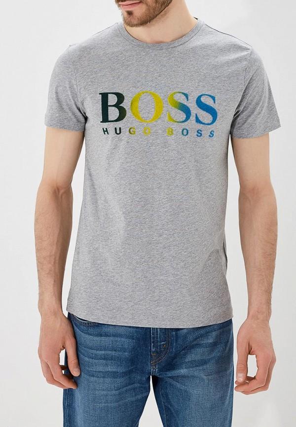 Футболка Boss Hugo Boss Boss Hugo Boss BO010EMBHON9 олимпийка boss green boss green bo984emori97