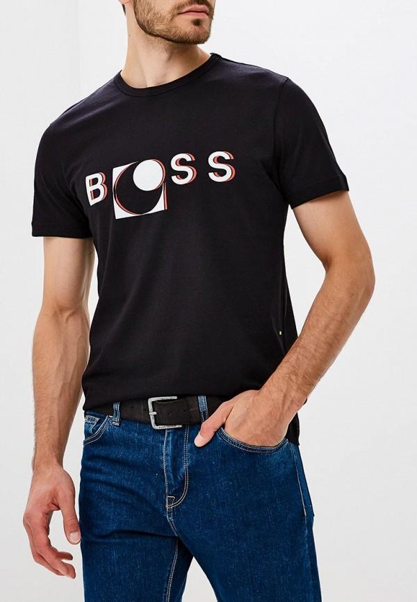 Футболка Boss Hugo Boss Boss Hugo Boss BO010EMBUJD0 чиносы boss hugo boss boss hugo boss bo246emtpu06