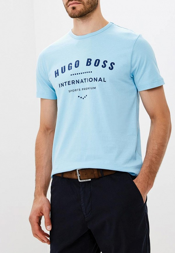 Футболка Boss Hugo Boss Boss Hugo Boss BO010EMBUJD2 чиносы boss hugo boss boss hugo boss bo246emtpu06