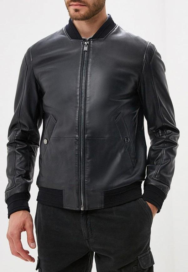 Куртка кожаная Boss Hugo Boss 50393039