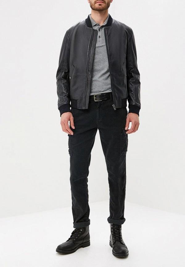 Куртка кожаная Boss Hugo Boss 50393039 Фото 2